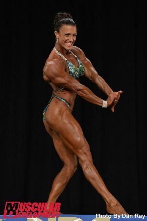 Image 6 April Cosimano Earned Pro Card 2014 NPC Nationals1