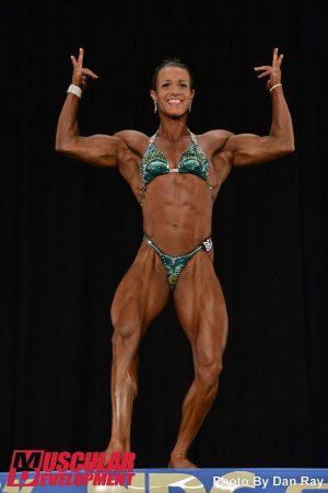 Image 7 April Cosimano Earned Pro Card 2014 NPC Nationals2